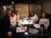Ужин с партнерами из Пекинского Университета