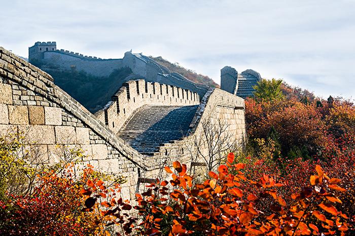 До Великой Китайской стены на поезде