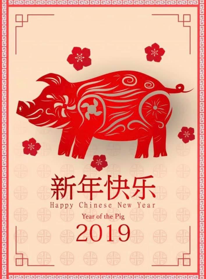 С Новым 2019 Годом Земляной Свиньи