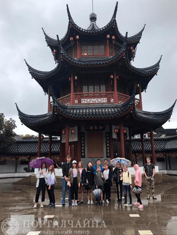 Вторая неделя ежегодного летнего лагеря в Шанхае