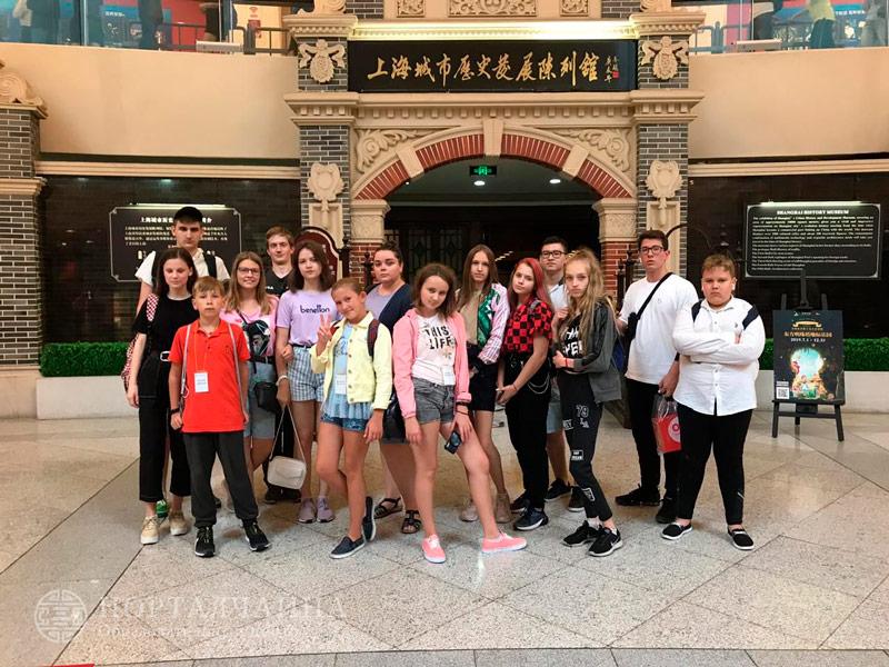 Летний лагерь для детей в Шанхае