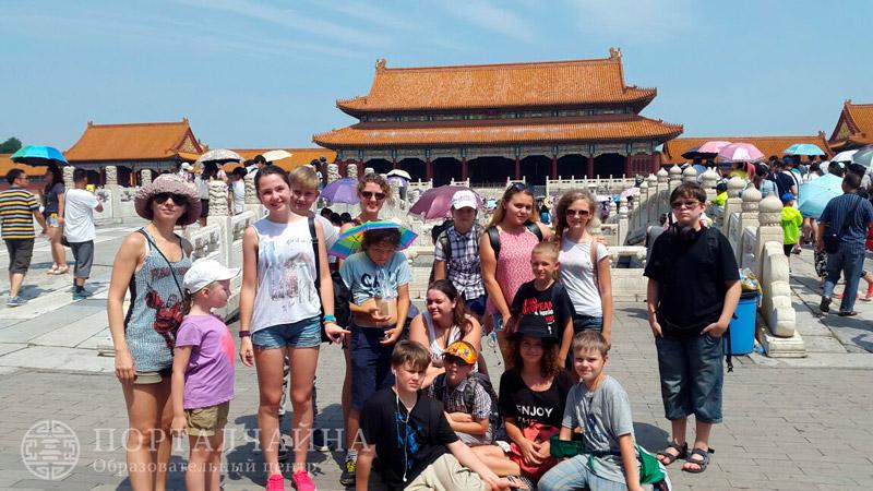 Поездка группы в Пекин 08.08.2015-09.08.2015
