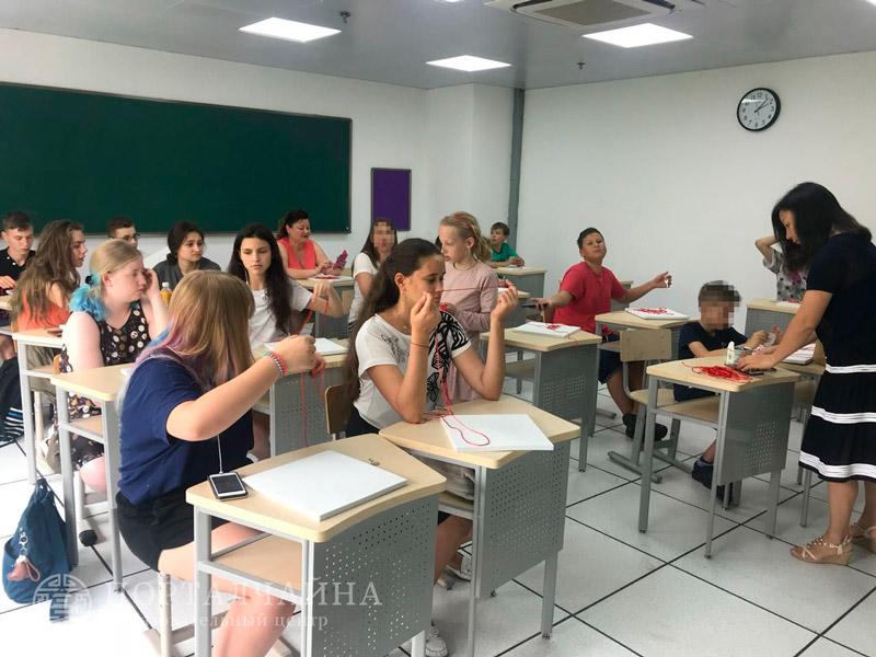 Факультативные занятия в лагере Шанхай 2018