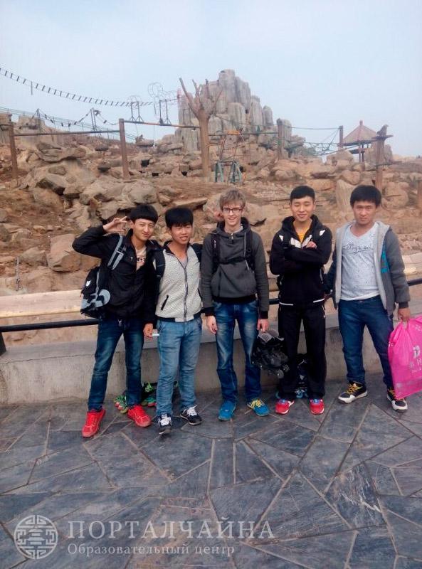 Наши ребята в Шицзячжуане (май 2015 г.)