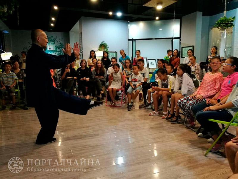 Вечеринка для наших студентов Цзяотуна 10.09.17